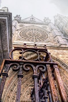 """""""Stargate, Cathedral - Catedral de Leon HDR"""" by marcp_dmoz on Flickr (cc) - Catedral de León Spain"""