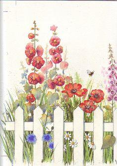Cottage garden Julie Clay