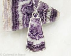 RESERVED  Amethyst Lace Necklace & Earrings by ColoredInStone