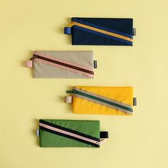 Le petit marche colorful line zipper pen case pencil case by Dailylike. The pens and pencils inside will be securely stored by a zipper closure. Colored Pencil Case, Cute Pencil Case, Pencil Bags, Pencil Pouch, Diy Crafts Pencil Case, Pencil Case Pattern, Leather Pencil Case, Diy Crafts For Girls, Duck Tape Crafts
