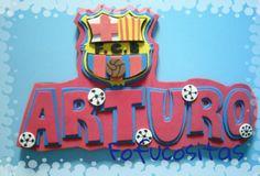 Letrero FC Barcelona