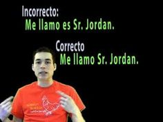 """I love using Señor Jordan's videos to supplement my lessons in Spanish class.  Sometimes hearing the (same exact) information from someone else besides the classroom teacher makes it """"click"""" for some students.  Lots of color coding, examples, and clearly explained!"""