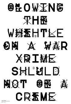 """Typeface that may be able to protect your messages from being easily detected or scanned by the big brothers over at the NSA. Designed by South Korean artist Sang Mun, who spent two years gathering intelligence for the NSA during his mandatory military service, and named after the U.S. Library of Congress code for """"No linguistic content, Not applicable,"""""""