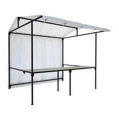 [Stall design] Food Market Stall White Side