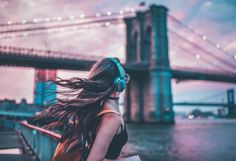 Recreating Brandon Woelfel's Editing Style in Lightroom and Photoshop Disney Instagram, Instagram Girls, Instagram Ideas, Girly Pictures, Cool Pictures, Tumblr Photography, Portrait Photography, Brandon Woelfel, Girl With Headphones