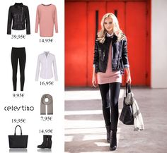 Rock it. with a leather jacket! Leather Jacket, Street Style, Polyvore, Jackets, Rock, Image, Fashion, Studded Leather Jacket, Down Jackets