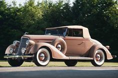 1934 Oldsmobile Eight Convertible