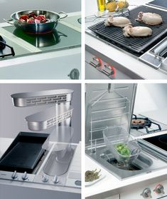 Built In Electric Grill Cooktop  Gaggenau Appliances Vario Extraordinary Designed Kitchen Appliances Inspiration Design