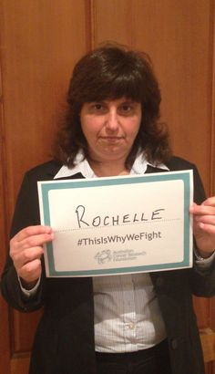 "Ruth, from 3BL, shares with us why she fights: ""This is for my sister Rochelle who is fighting Pancreatic Cancer"" http://acrf.com.au/ThisIsWhyWeFight #ThisIsWhyWeFight #cancer #family #support"