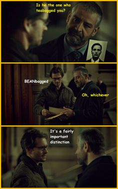 Pazzi knows what he said. Hannibal x Archer Tumblr: You're Not My Supervisor