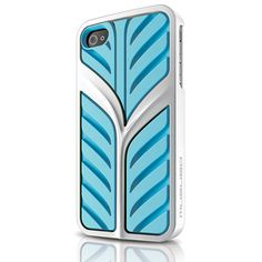 Musubo Eden Hybrid Case for iPhone 4 & 4S - Blue