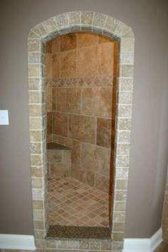 Modern Bathroom Wall And Floor Tile Design Ideas. Bathroom Tile Ideas Classic Marble Tile Page Bathroom Shower Tile Ideas Jpg. Shower Installation, Walk In Shower Designs, Master Shower, Master Bathroom, Master Bath Remodel, Small Bathroom, Bathrooms, Bathroom Ideas, Bath Ideas