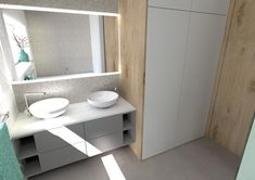 Koupelna - Inspirace | Modrastrecha.cz Double Vanity, Bathroom, House, Inspiration, Washroom, Biblical Inspiration, Home, Full Bath, Bath