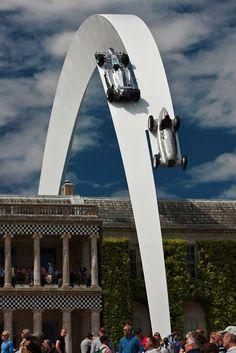 Mercedes-Benz Sculpture by Gerry Judah for Goodwood Festival of Speed 2014 | Sussex, UK