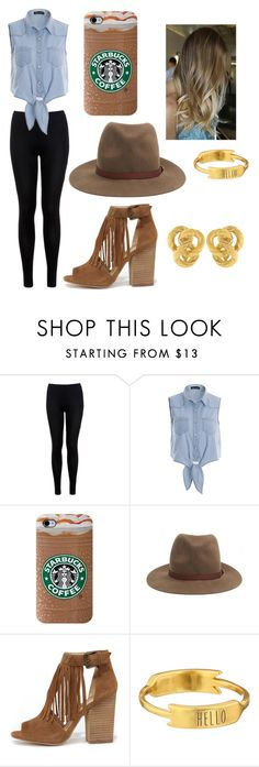 """""""Coffee House Tour"""" by forever-young114 ❤ liked on Polyvore featuring Miss Selfridge, rag & bone, Chinese Laundry, Gorjana, women's clothing, women, female, woman, misses and juniors"""