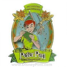 $15.95Disney Peter Pan Pin - DVD Release
