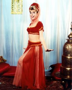 "Barbara Eden's iconic ""I Dream of Jeanie"" genie costume."
