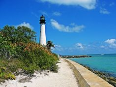 Climb to the top of the Cape Florida Lighthouse in Key Biscayne, just outside of Miami! Travel Alone, Asia Travel, Travel Usa, Florida Travel, Travel Packing, Miami Beach, Florida Hotels, Florida Keys, Miami Florida
