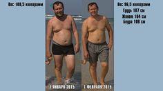 Мои фото до похудения и после 1 месяца работы над собой