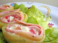Rolinhos de Abobrinha ~ PANELATERAPIA - Blog de Culinária, Gastronomia e Receitas