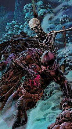 Injured Batman