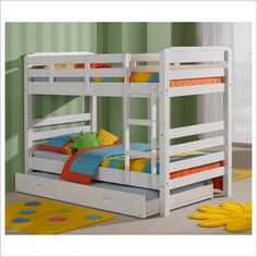 Maroubra King Single Bunk Bed in White Bay Street | Wayfair