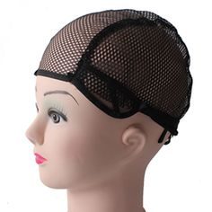 NEW Popular Glueless Full Lace Wig Cap 10 Pcs Lot Black Color Wig Net Cap Weaving Caps Wig Caps For Making Wigs Adjustable
