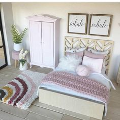 Wooden Barbie House, Pink Closet, Ikea, Toddler Bed, Lps, Bedroom, Lighting, Places, Furniture