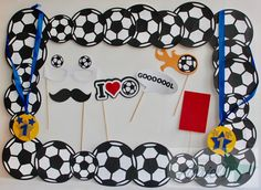 Soccer Wedding, Soccer Party, Football Birthday, 30th Birthday, Easter Crafts, Crafts For Kids, Cute Boyfriend Gifts, Baby Shower Deco, First Birthdays