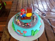 Torte per caso - Super Mario cake