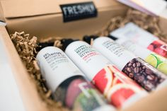 Freshly Cosmetics   Packaging Detox Plan, Cosmetic Packaging, Boxing, Packing, Skin Care, Cosmetics, How To Plan, Facial Toner, Shower Gel
