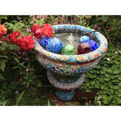 A mosaic fountain I made