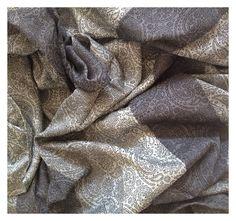 Paisley Quatro Moonlight / 50% cotton, 50% bamboo