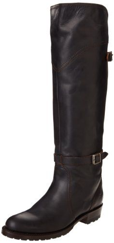 FRYE Women's Dorado Lug Riding Riding Boot, Black, 6 M US *** Want additional info? Click on the image.