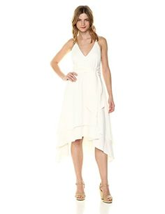 C/Meo Collective Women's Vision of You High Low Dress at Women's Clothing store: Lace Dress, White Dress, Short Dresses, Girls Dresses, Wedding Dresses Uk, Dress Hats, Summer Dresses For Women, Swing Dress