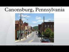 Watch video: Canonsburg, Pennsylvania