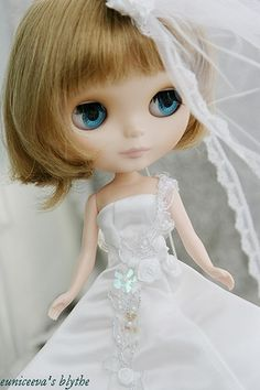 blythe wedding by euniceeva, via Flickr