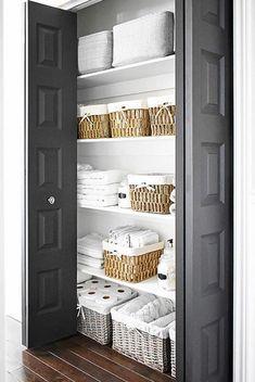 The beauty of linen closet organization makeover 11