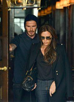 Victoria and David Beckham 2013