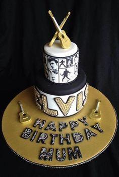 Elvis cake.