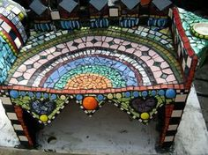 Image result for mosaic art can i mosaic cement