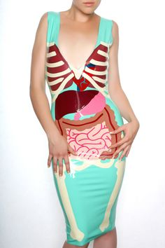 Hey, I found this really awesome Etsy listing at https://www.etsy.com/listing/185362922/i-love-your-guts-latex-dress