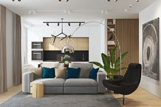 Contemporary Apartment Designed by Geometrium in Moscow, Russia