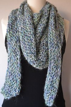 SOLD***$20***Handmade Lavender Hooded Scarf***For more unique items please visit: http://www.etsy.com/shop/TsEclecticCorner
