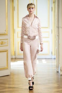 682f4d3bb9a3 Monochromatic looks for fall! Couture Week