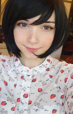 ผมบ๊อบ Katya Lischina Minami Nyan
