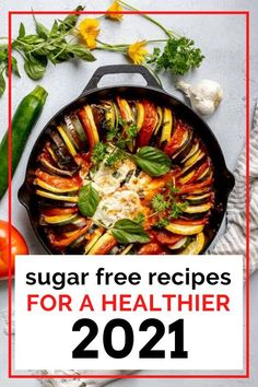 From desserts to mains to yummy snacks, get sugar-free recipe ideas here to keep you on track in 2021. Easy, delicious healthy meals with these sugar free recipes. Healthy Cooking, Healthy Meals, Healthy Recipes, Delicious Recipes, Tasty, Sugar Free Desserts, Sugar Free Recipes, Real Food Recipes, Snack Recipes