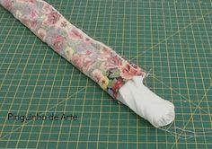 Hoje vou passar para vocês uma outra maneira de fazer barrado em pano de prato ou toalhas. Eu já havia feito um outro Pap aqui que também ...