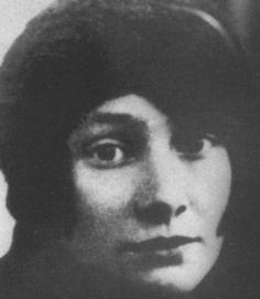 Anna Nikolaevna Engelhardt, la seconda moglie di Gumilev.