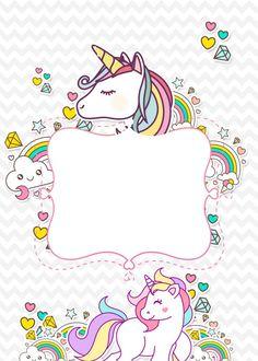 39 super Ideas for birthday invitations with pictures mice Baby Unicorn, Unicorn Art, Cute Unicorn, Rainbow Unicorn, Unicorn Images, Unicorn Pictures, Unicorn Birthday Invitations, Unicorn Birthday Parties, Party Invitations